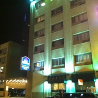Photo taken at Best Western River North Hotel by Jesse G. on 8/20/2011