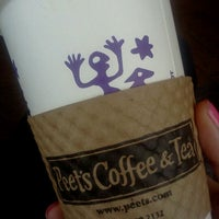 Photo taken at Peet's Coffee & Tea by Kristen L. on 1/23/2012
