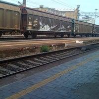 Photo taken at Stazione Vercelli by Katya L. on 6/1/2012