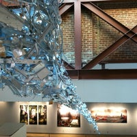 Photo taken at 21c Museum Hotels - Louisville by Emily F. on 6/9/2012