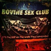 Photo taken at Bovine Sex Club by Alexander K. on 8/17/2012