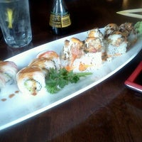 Photo taken at Rise Sushi Lounge by Zack D. on 2/28/2012