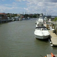 Photo taken at Shem Creek by Jaydon And Daddy C. on 7/20/2012