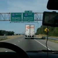 Photo taken at I-57/I-24 Split by Kim H. on 6/23/2012