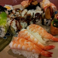 Photo taken at Kumo Japanese Seafood Buffet by Lisa on 7/7/2012