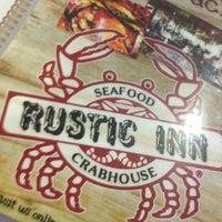 Photo taken at Rustic Inn Seafood Crabhouse by Ninja on 8/22/2012