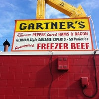 Photo taken at Gartner's Country Meat Market by Dean C. on 7/31/2012