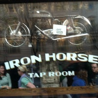 Photo taken at Iron Horse Tap Room by Fatmandoo G. on 3/17/2012