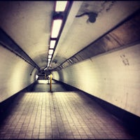Photo taken at Bank London Underground and DLR Station by Robbie J. on 8/24/2012