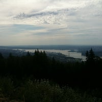 Photo taken at Cypress Mountain Lookout by Lizelle M. on 8/7/2012
