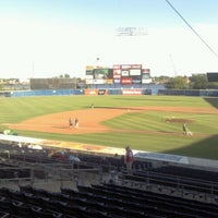 Photo taken at Harbor Park by Tino M. on 6/14/2012