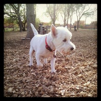Photo taken at Columbia Dog Park by Dan H. on 4/5/2012