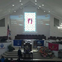 Photo taken at Hilton Terrace Baptist Church by Todd S. on 11/13/2011