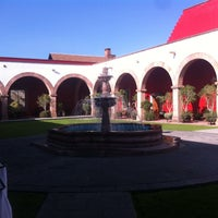Photo taken at Hacienda Caltengo by Victor Manuel E. on 3/15/2012