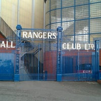 Photo taken at Ibrox Stadium by S24SU.com on 7/27/2012