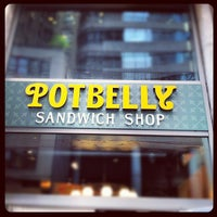Photo taken at Potbelly Sandwich Shop by Brent M. on 6/8/2012