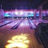 Photo taken at East Village Tavern+Bowl by Chris B. on 6/25/2012