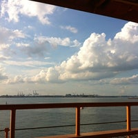 Photo taken at Staten Island Ferry Boat - Andrew J. Barberi by Leslie C. on 7/27/2012