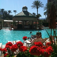 Photo taken at Renaissance Indian Wells Resort & Spa by YeahSuh on 2/26/2012