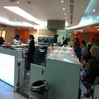 """Photo taken at Alitalia Lounge """"Giotto"""" by dOnk @. on 7/16/2012"""