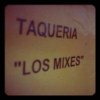 Photo taken at Taqueria La Morena de los Mixes by Enrique C. on 7/26/2012