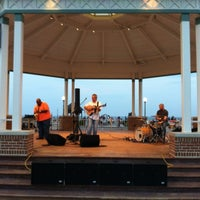 Photo taken at Rehoboth Beach Bandstand by Gar G. on 6/25/2012
