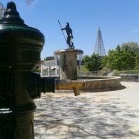 """Photo taken at Parque de """"La Ribota"""" by Genial_es on 5/10/2012"""