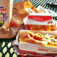 Photo taken at Sonic Drive-In of Port Richmond by Michelle . on 8/10/2011