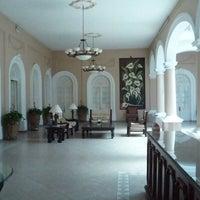 Photo taken at Hotel Posada Regis by Laura N. on 3/14/2012