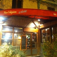 Photo taken at Le Bistrot Falguiere by Gabriel J. on 4/1/2011