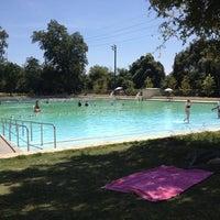 Photo taken at Deep Eddy Park by Caroline O. on 9/6/2012