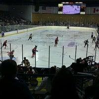 Photo taken at Rushmore Plaza Civic Center Ice Arena by Kandi C. on 10/19/2011
