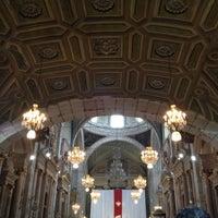 Photo taken at Templo de San Francisco by Karina R. on 4/5/2012