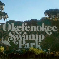 Photo taken at Okefenokee Swamp Park by Christine R. on 1/5/2012