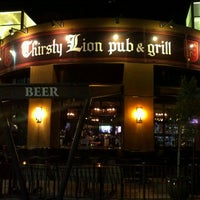 Photo taken at Thirsty Lion Pub & Grill by Adan H. on 12/16/2011