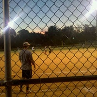 Photo taken at Gower Park Field by Christopher H. on 9/13/2011