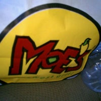 Photo taken at Moe's Southwest Grill by Trip M. on 4/24/2012
