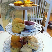 Photo taken at Victoria Rossa English Tea Room by Sheewah T. on 5/13/2012