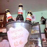 Photo taken at Terraza de Bar Aurelio - Mérida by Arild H. on 8/12/2011