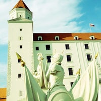 Photo taken at Bratislava Castle by Angela F. on 8/25/2012