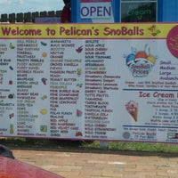 Photo taken at Pelicans Snowballs by Paula P. on 6/9/2012