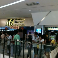 Photo taken at Golden Screen Cinemas (GSC) by Gan S. on 2/20/2011