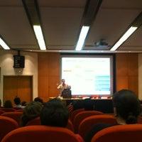 Photo taken at University of Piraeus by Argiris T. on 7/11/2012
