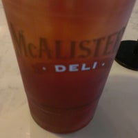 Photo taken at McAlister's Deli by Vanessa G. on 8/23/2012