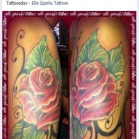 Photo taken at Elle Sparks Tattoos by Elle S. on 6/27/2012