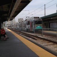 Photo taken at MBTA Science Park / West End Station by Jason T on 5/14/2012