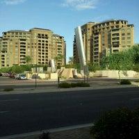 Photo taken at Soleri Bridge & Plaza by Rosario S. on 8/22/2011