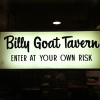 Photo taken at Billy Goat Tavern by Adam H. on 4/27/2011