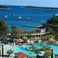 Photo taken at Hotel Amfora by Eva B. on 5/25/2012