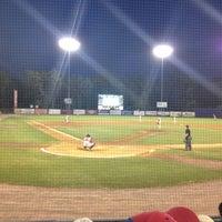 Photo taken at Dutchess Stadium by Carmen V. on 7/4/2012